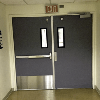 An Exit Device Is A Form Of Door Hardware That Allows The Door To Remain  Locked From The Outside, However, People Inside Can Still Exit Quickly  Without ...