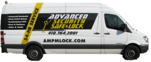Mobile locksmith van