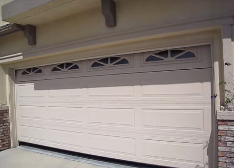 We install steel garage doors