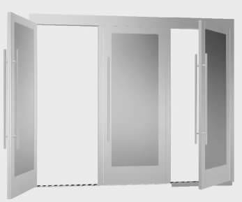 Aluminum door frame installation for your business