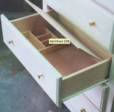 Protect your valuables in a false drawer