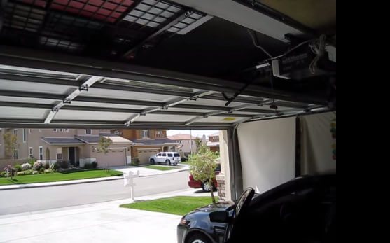 We install both metal and steel residential garage doors